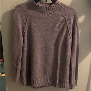 Dusty purple sweater